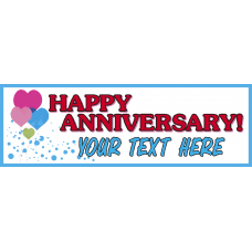 Banner - Happy Anniversary Option A