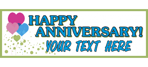 Banner - Happy Anniversary Option B