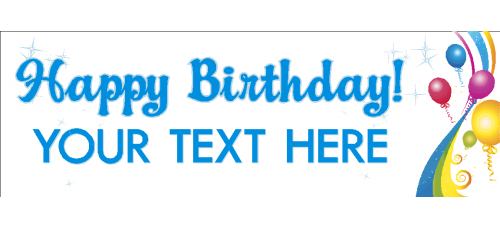 Banner - Happy Birthday Option A
